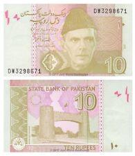 Pakistan 10 Rupees 2007 P-45b  Banknotes  UNC