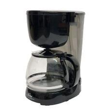 Elta Macchina Del Caffè con Filtro Permanente, 1,25 L, 750 W, Nero
