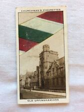 Churchman cigarette card. Well-Known Ties. Old Uppinghamians