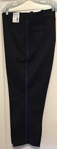 NWT NEW Horace Small Mens Uniform Security Pants Sz 46X31 Navy Blue Side Stripe