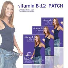 USPS 2pack Vitamin B12 Energy Patch Guarana Garcinia cambogia Fitness Slimming