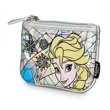 Disney Frozen Elsa Stained Glass Faux Leather Coin Bag