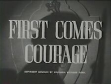 FIRST COMES COURAGE  1943 (DVD) MERLE OBERON
