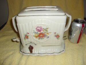 antique Vintage porcelain toaster
