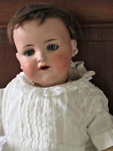 "Antique Armand Marseille German 990 A 3 Bisque Head Doll 15"""
