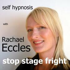 Stop Stage Fright Overcome Performance Anxiety Help Hypnotherapy Hypnosis CD
