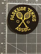 Vintage Parkside Tennis Assoc. Patch PTA Association Club Windsor Ontario Canada