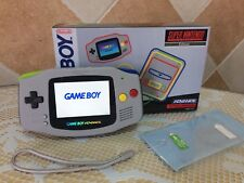 Consola Game Boy Advance GBA Retroiluminada AGS 101 SNES Backlight - backlit