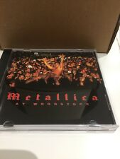 Metallica At Woodstock 1994 CD Album