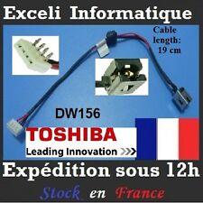 Steckverbinder dc-klinkenbuchse kabel DW156 TOSHIBA SATELLITE C660 C660D A660
