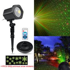 LED Star Lights R&G Laser Projector Magic Christmas Garden Landscape Stage Lamp
