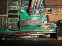 Commodore Amiga CDTV Dual Joystick/Mouse Adapter full set.
