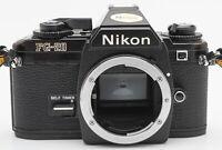 Nikon FG-20 Gehäuse Body SLR Kamera analoge Spiegelreflexkamera schwarz FG 20