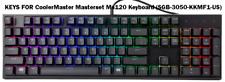 KEYS FOR CoolerMaster Masterset Ms120 Keyboard (SGB-3050-KKMF1-US)