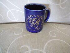 Navy / Gold Writing SCOTLAND Mug