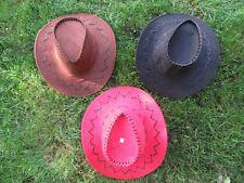 5X Fashion Velvet Cowboy Hats Mixed Color