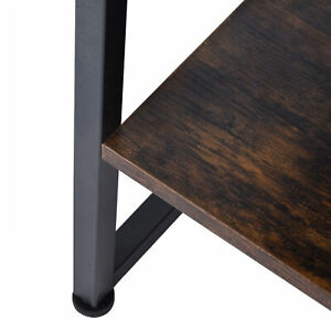 2 Layer Coffee Desk Tea Table Sofa Table For Home Department Living Room Hot