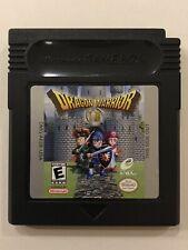 Dragon Warrior I II [ Nintendo GameBoy  ] • Authentic • w/Protective Case