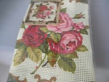 Coats Royal Paris Pillow Embroidery Cross Stitch Kit Roses
