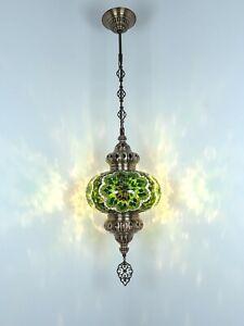 20 COLOR VARIATIONS turkish mosaic pendant lamp