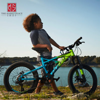 Huffy 20-inch Oxide Boys Mountain Bike for Kids Lime Blue New