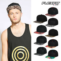 Flexfit by Yupoong Fashion Print Snapback - Contrast Baseball Cap (6089)