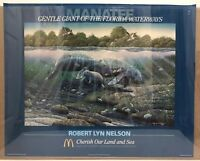 ROBERT LYN NELSON Gentle Giant of the Florida Waterways Poster McDonalds 1987
