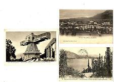 CPA 73 Savoie Aix-les-Bains et environs Lot de 3 cartes