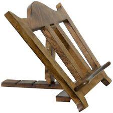 Leggio Libri Chiesa Cappella in legno regolabile FUNZIONANTE da appoggio altare