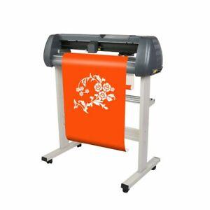 "V0 110V 28"" Vinyl Sign Sticker Cutter Plotter Engraving Print Cutting Machine"