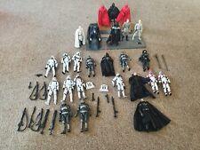 star wars imperial figures bundle stormtrooper vader lot