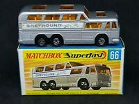 Matchbox MB66-A2 Superfast - Greyhound Coach/Bus in Type G Box