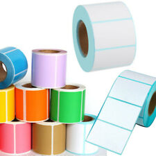 Color Thermal Paper Blank Label Barcode Label Sticker Multi Model Lot General