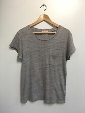 Levi's Vintage Clothing (LVC) Gray Marled Pocket T-shirt Size Small