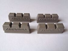 * Nos Vintage 1980 S Campagnolo Victory Grigio Pastiglie Freno Blocco PC (x4) *