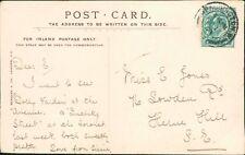 Ethel Mary Jones. 76 Lowden Road, Herne Hill, London 1903    RM.664