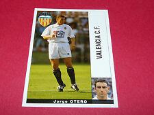 JORGE OTERO VALENCIA CF PANINI LIGA 95-96 ESPANA 1995-1996 FOOTBALL
