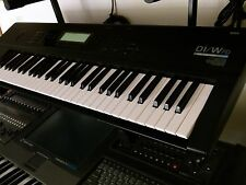 KORG 01/W FD with New Backlight and New Battery. Sounds on disks included.