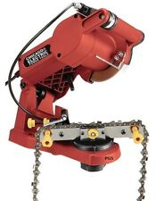 Electric Chain Saw Sharpener by Chicago Bench Mount 4200 RPM New Free Shipping