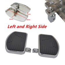 1Pair Motorcycles Left+Right Floorboards Foot Boards Pedal Fit for Honda Suzuki