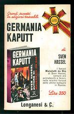 HASSEL SVEN GERMANIA KAPUTT LONGANESI 1967 I LIBRI POCKET 116 II GUERRA MONDIALE