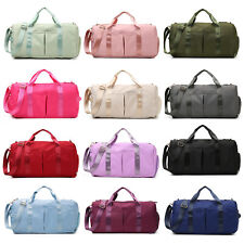 Waterpoof  Sports Duffel Gym Bag with Wet Pocket Shoes Compartment for Men Women