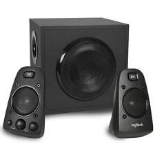 Logitech Z623 THX Certified 3-Piece 2.1-Channel Multimedia Speaker System Black