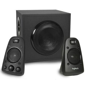 Logitech Z623 THX Certified 3-Piece 2.1-Channel Multimedia Speaker System Black