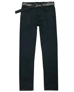 MAYORAL Junior Boy's Jogg Jean Pants with Belt, Sizes 8-16