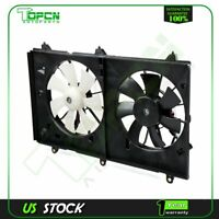 AC Condenser Radiator New Cooling Fan Fits 03 04 05 06 07 Honda for Accord 2.4L