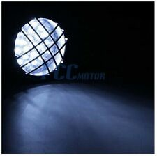 12V LED HEADLIGHT LAMP W/ HIGH LOW BEAM 3 WIRE ATV GO KART QUAD SCOOTER I LT04