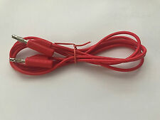 Test Lead Banana Plug red Stackable 4mm 1.5M Long