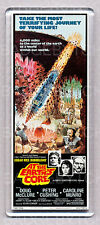 AT THE EARTH'S CORE LARGE movie poster 'wide' FRIDGE MAGNET  - 70's CLASSIC !