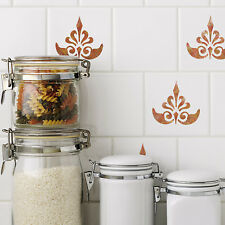CraftStar Ornate Fleur De Lys Stencil -  Reusable Small Fleur De Lis Stencils